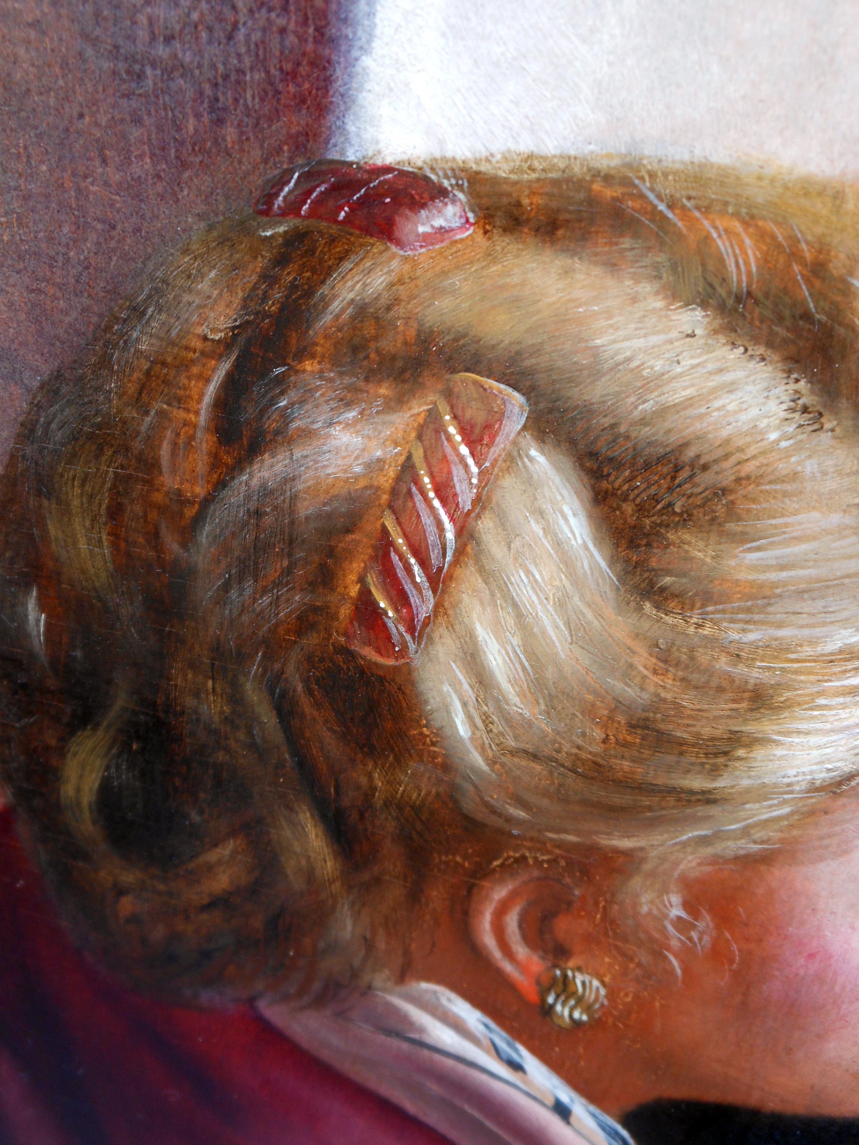 evert thielen schilderij detail